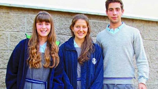 Tres secundarios de Berazategui se van a estudiar a la NASA