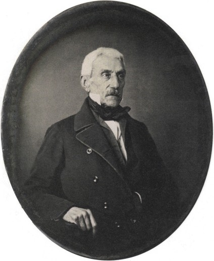 Daguerrotipo de San Martín a los setenta años de edad (1848).